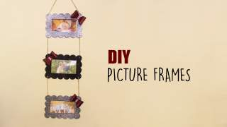 Picture Frames  DIY Photo Display  Wall decor