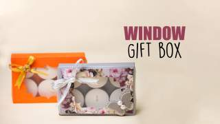 Window Gift Box  Party Favors  Gift box idea