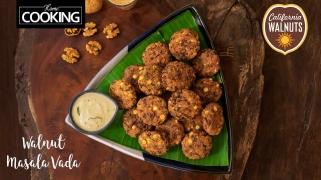 Walnut Masala Vada  Snack Recipes  Tea Time Snacks  Walnut Recipes