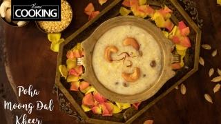 Poha Moong Dal Kheer  Pasi Paruppu Payasam  Poha Kheer  Aval Payasam  Indian Sweet Recipes