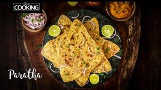 Plain Paratha  Saada Paratha  Layered Paratha  Flaky & Soft Paratha Recipe