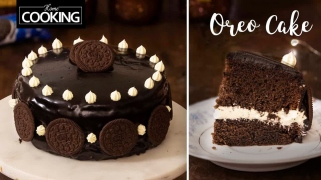 Oreo Cake  Oreo Biscuit Chocolate Cake  Eggless Cake Recipe  Oreo Cream Frosting  Chocolate Fudge Cake