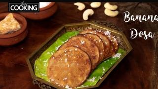 Banana Dosa  Snacks Recipe  Sweet Dosa Recipe  Banana Pancakes  Banana Recipes  Kids Recipes