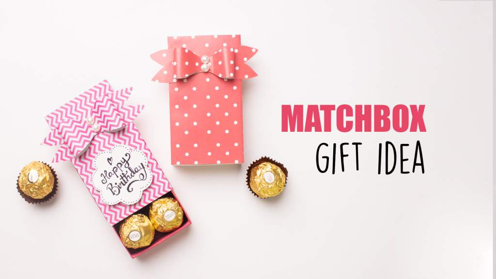 Matchbox Gift Idea  Trash to Treasure  Gift Box Ideas
