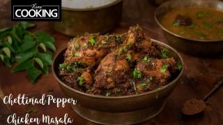 Chettinad Pepper Chicken Masala  Pepper Chicken Dry  Chicken Recipe  Chettinad Recipe  Side dish