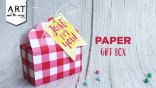 Paper gift bag  Simple Gift Ideas  DIY Paper Crafts  Handmade Bags  Birthday Gift Ideas  Easy