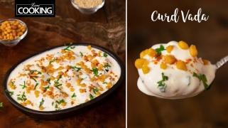 Curd Vada Recipe  Dahi Vada  South Indian Style Thayir Vadai  Curd Vadai  Perugu Vada