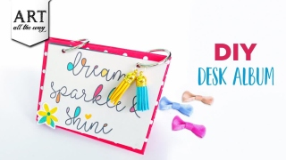 DIY Desk Album  Handmade Scrapbook  Paper Crafts  Home Decoration  Easy Gift Ideas  Room Decors
