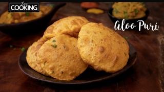 Aloo Puri  Masala Puri  Puri Recipe  Breakfast Recipes  Lunch Box Recipes  Potato Poori