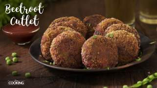 Beetroot Cutlet  Evening Snack  Quick Snack Recipe